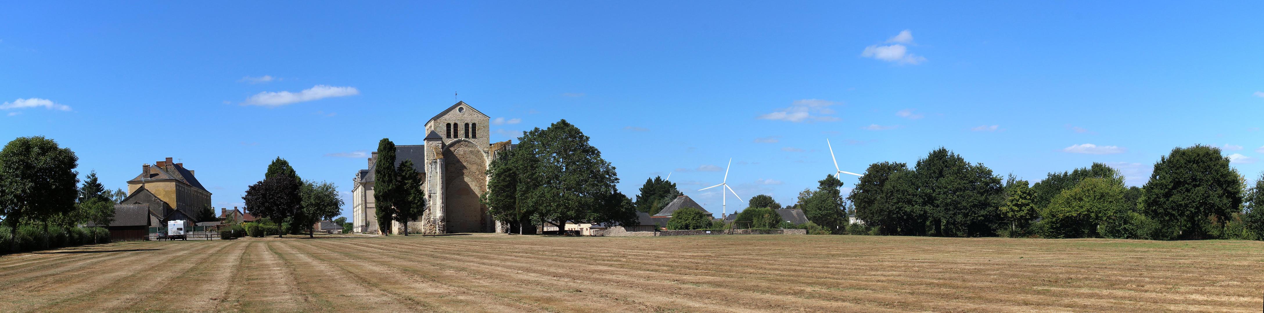 L'insertion paysagère du parc éolien