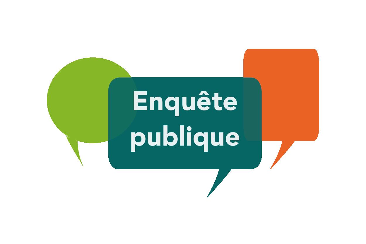 Une enquête publique du lundi 28/09/2020 9h30 au mercredi 28/10/2020 à 12h30